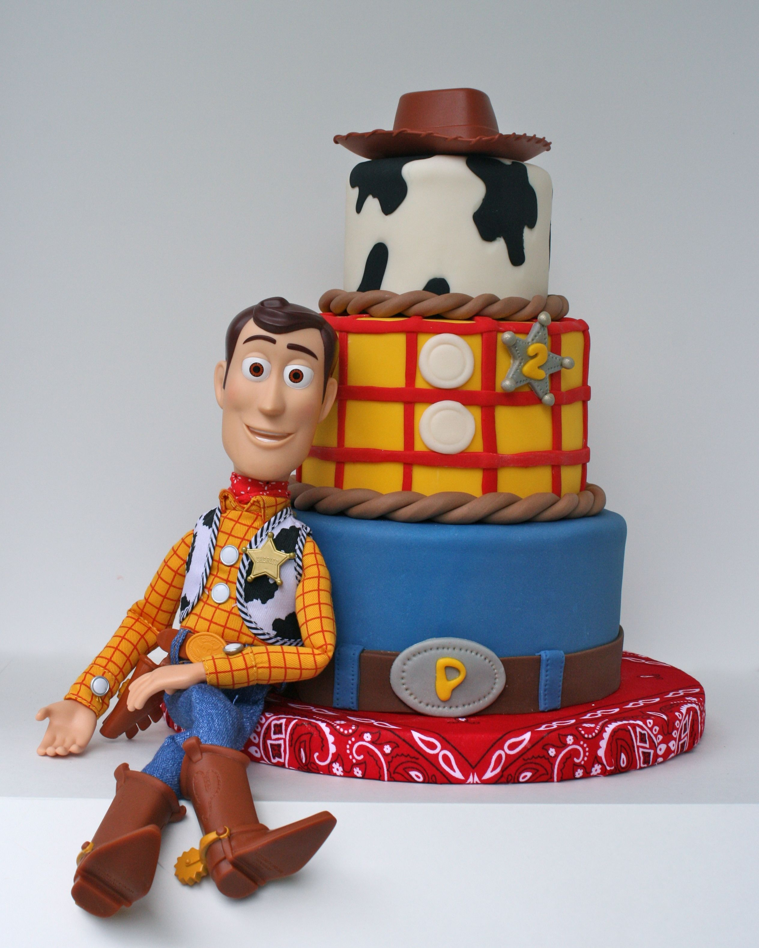 Toy Story S Woody Cake