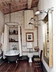 Ireland house inspiration very cool rustic meets modern bathroom also rh pinterest