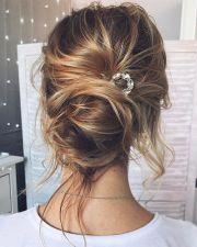 gorgeous messy bridal hair updos