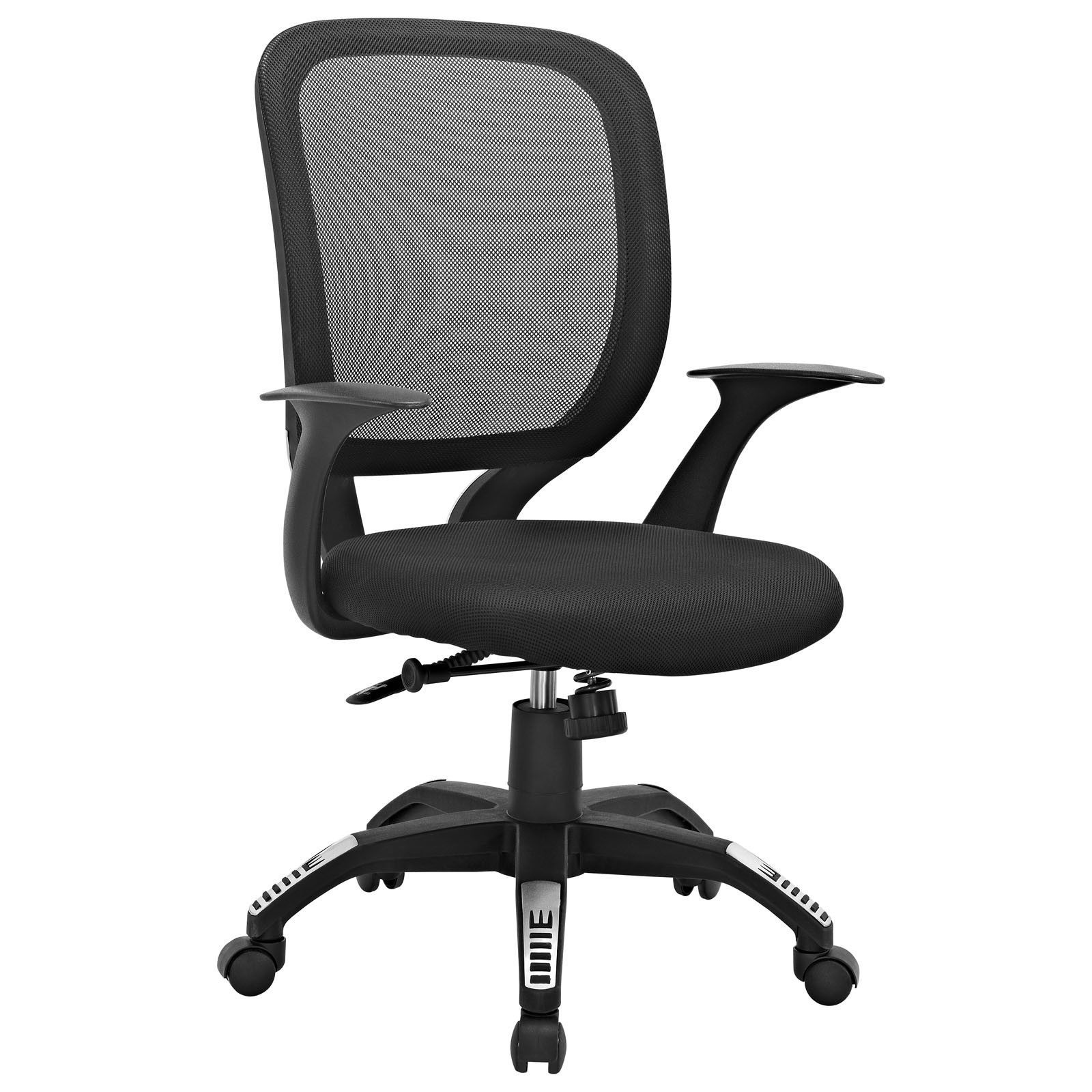 sparco office chair rail end cap scope fice in black with bureaustoel