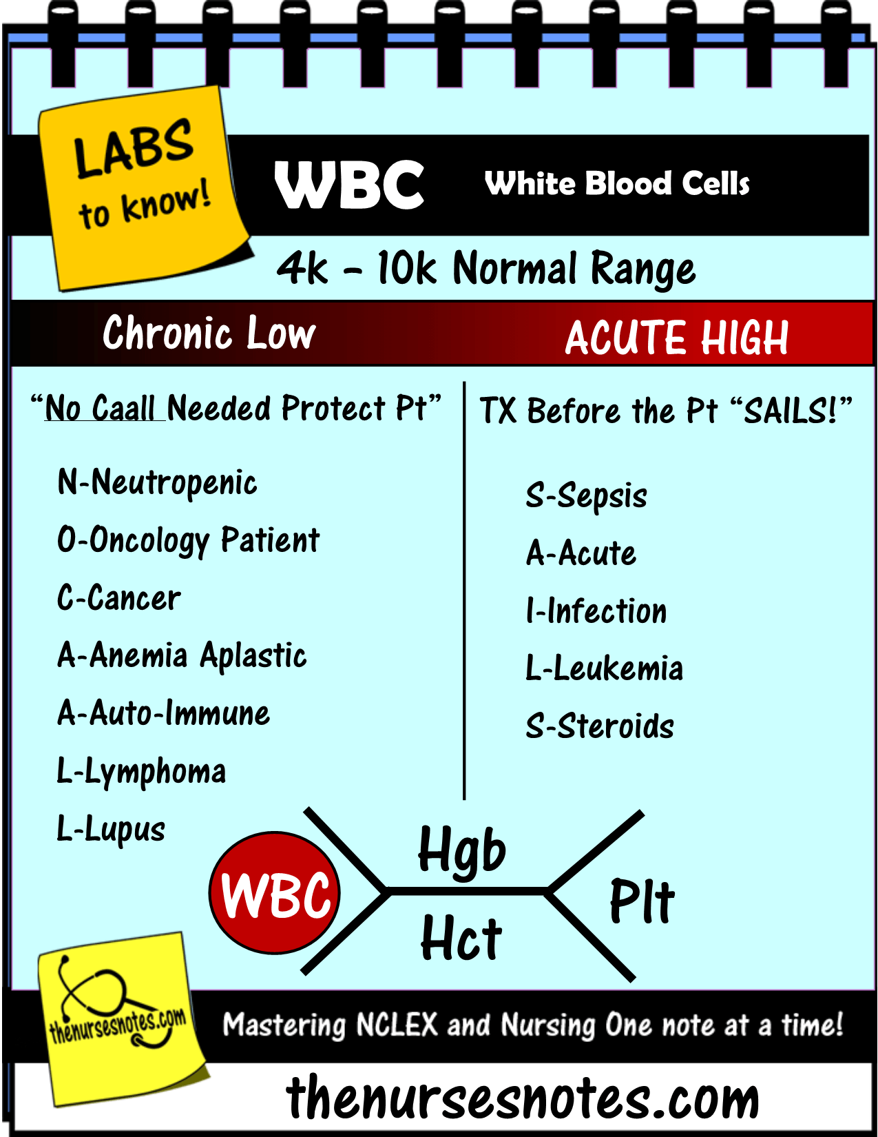 Cbc Complete Blood Count Wbc Platelets Hgb Hct Bmp Chem7 Fishbone Diagram Explaining Labs