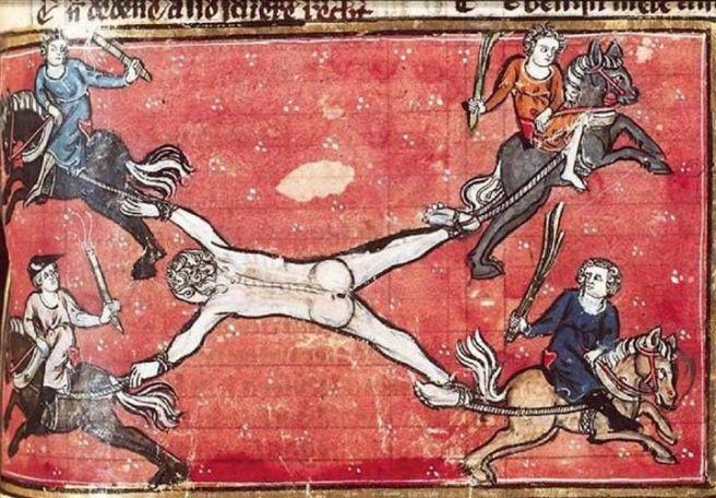 Image result for medieval manuscript traitor