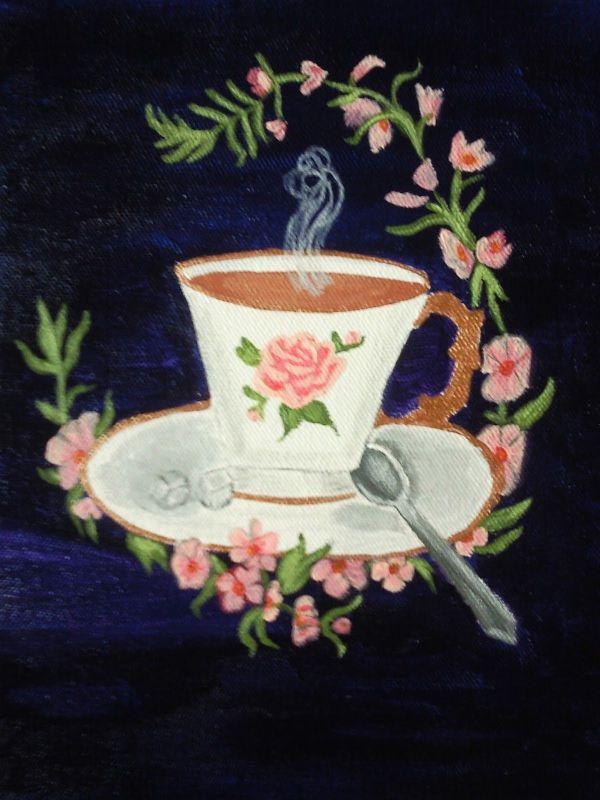 Victorian Tea Party Clip Art Vintage
