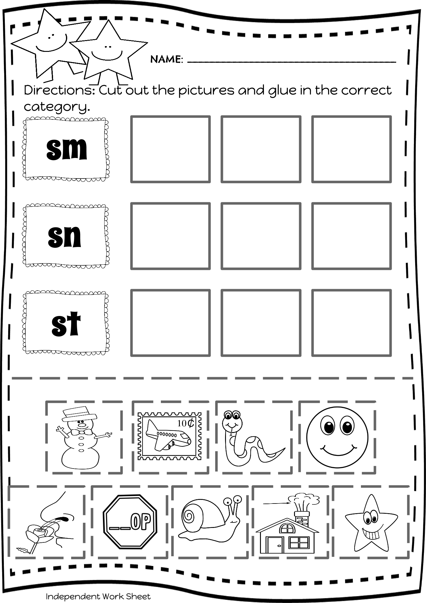 Beginning Blends Amp Short Vowel Word Sorts