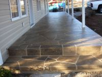 cement steps for front porch | Decorative Resurfaced ...