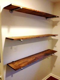 How to Make Rustic Shelves at PlumberSurplus.com | Pool ...