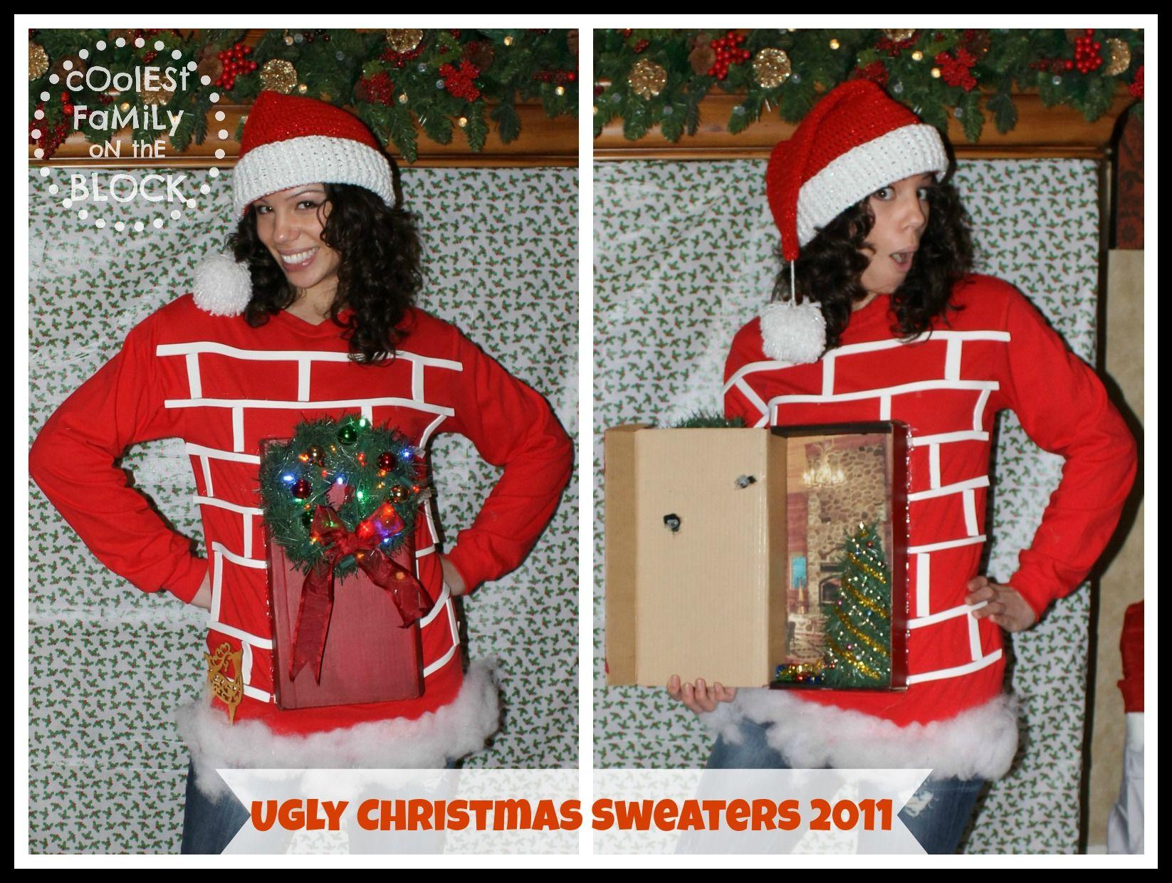 Ugly Christmas Sweater Door Decorations