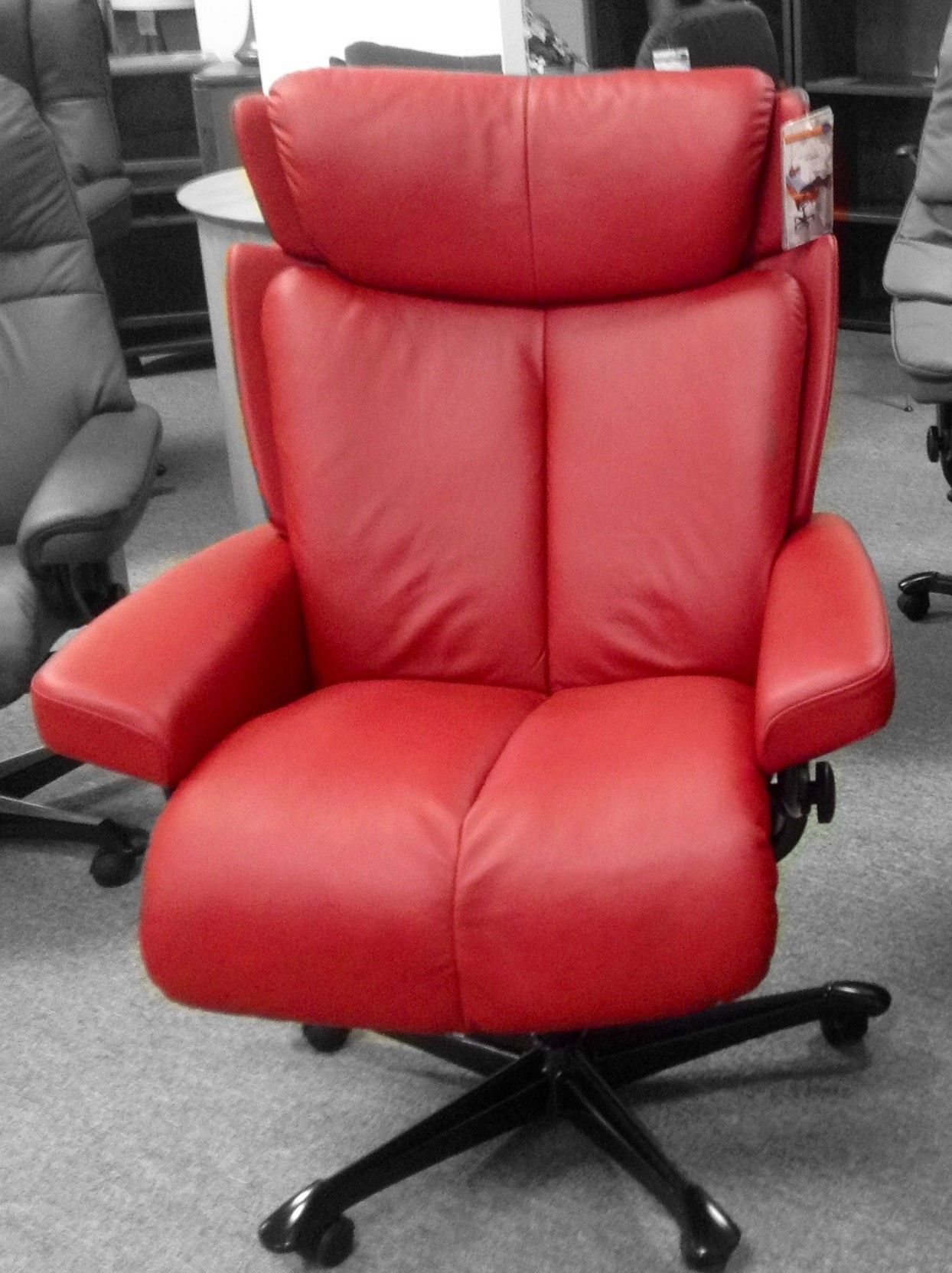 Stressless Office Chair Stressless Magic Office Chair Paloma Cherry Available At