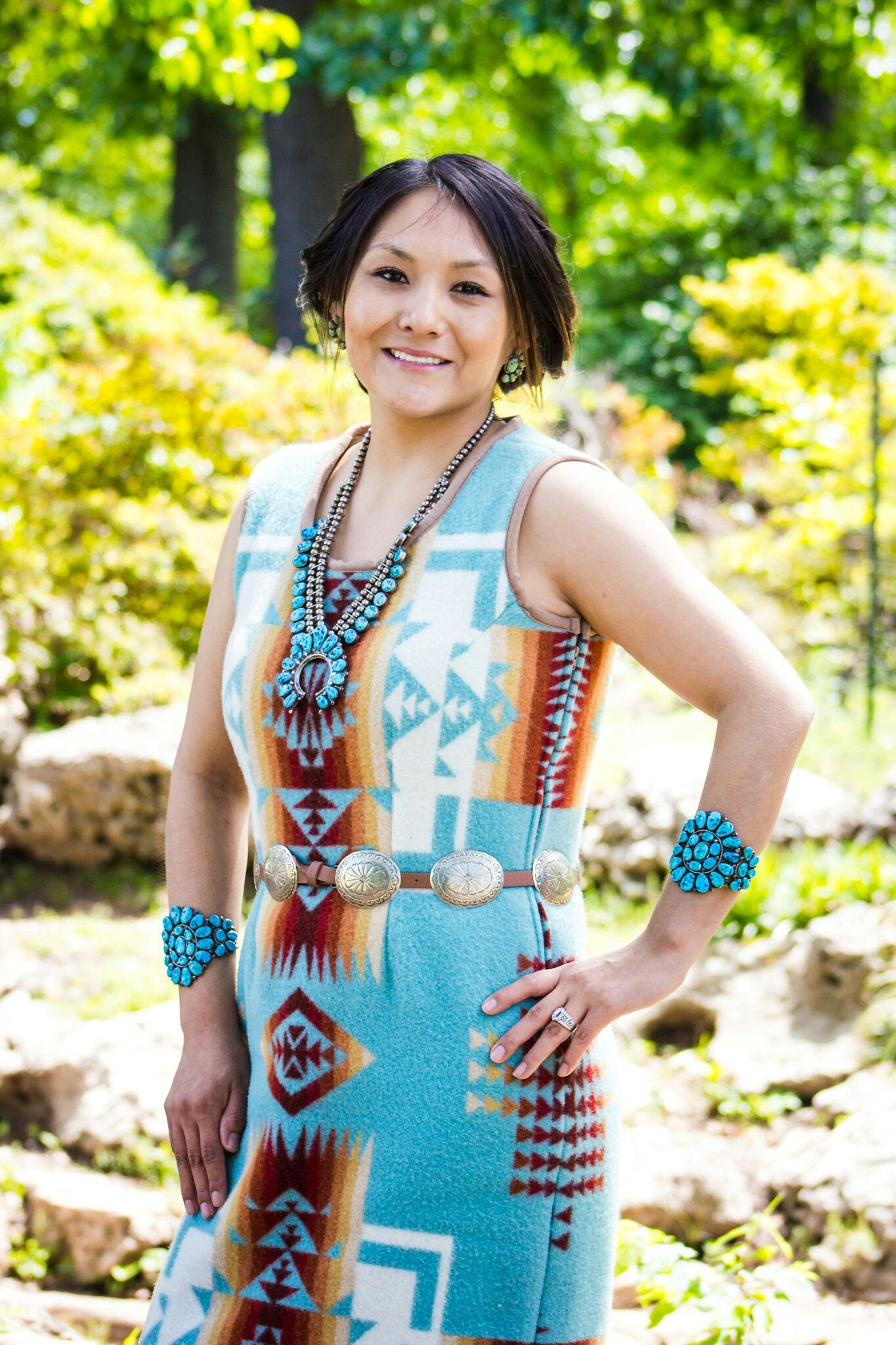 Traditional Authentic Native Design Dresses