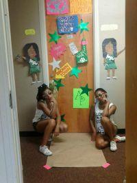 cheer camp door contest cute idea | CHEER! | Pinterest ...