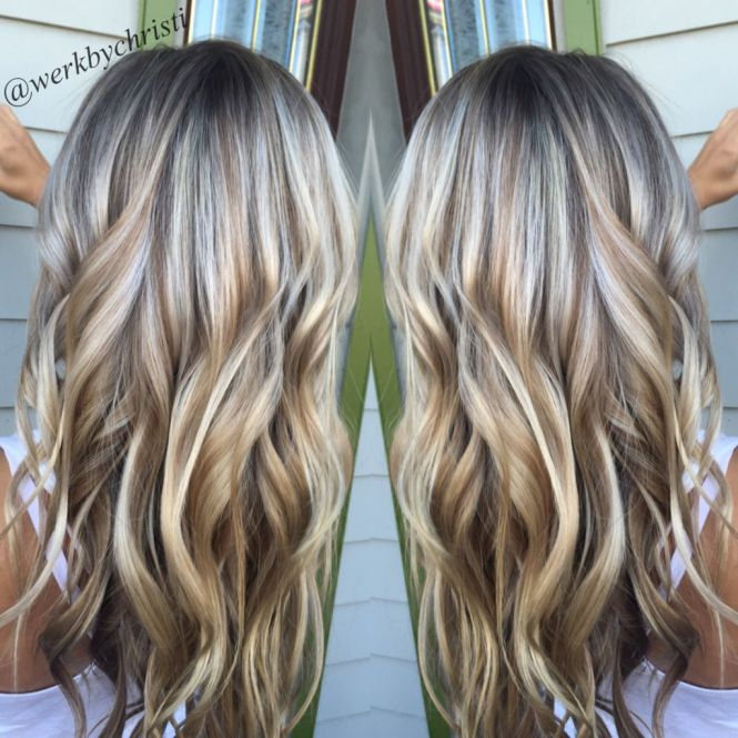 Highlights lowlights blonde hair the best blonde hair 2017 50 astonishing hairstyles for brown hair with lowlights and pmusecretfo Images