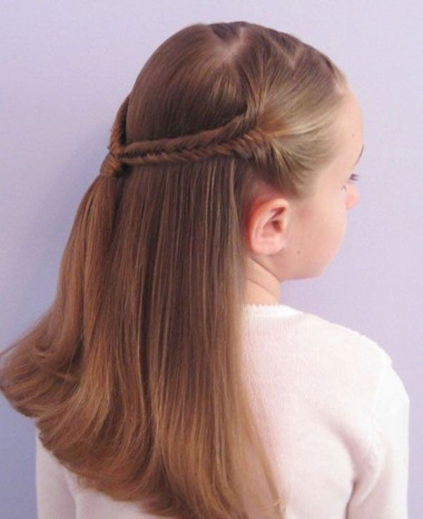 Simple Cute Braided Hairstyles For Kids Hair Hairstyles For Kids