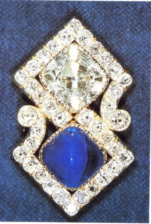 Queen Marys Russian Brooch It Was Originally Given By