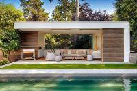 Moderne poolhouse in hout en crpi   Bogarden   Poolhouse ...