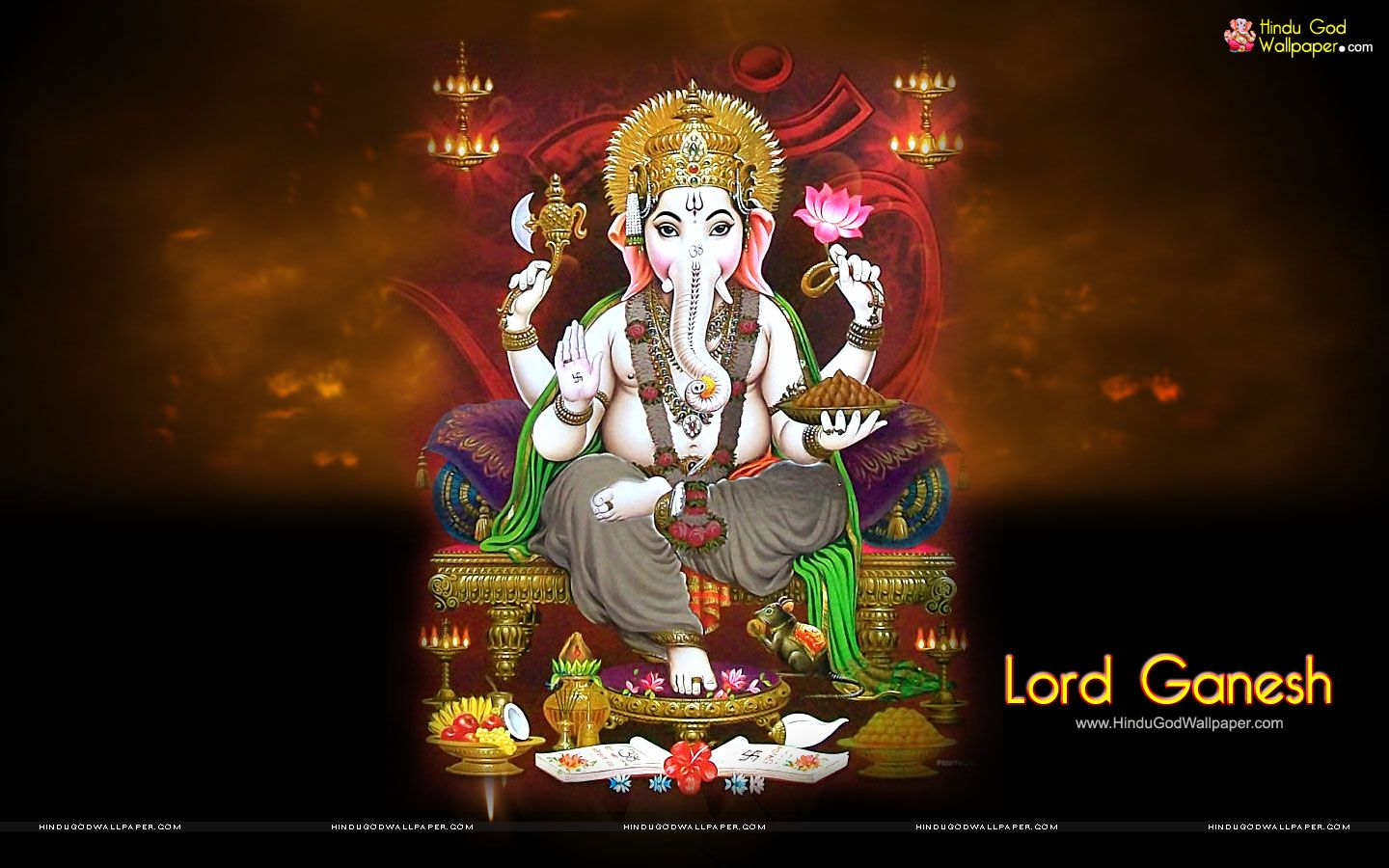 Maa Durga Hd Wallpaper 1080p For Pc Lord Ganesh Wallpapers Hd High Resolution Download Lord