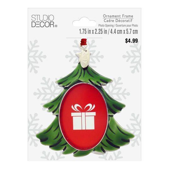 Studio Decor Christmas Tree Ornament Frame By Décor