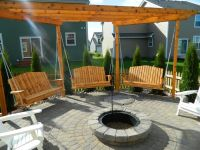 Multi-Purpose Fire Pit Seating area! | Backyard Ideas ...