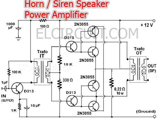 Horn Loudspeaker Wiring Horn Microphone ~ Elsavadorla