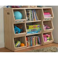 Cubbies and book storage. Merry Products Children's ...