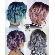metallic hair dye ideas