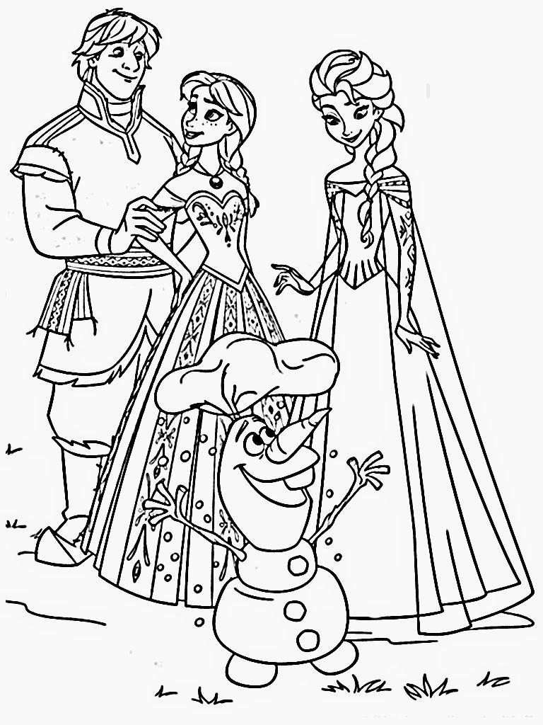 Frozen Coloring Pages Disney Coloring Pages Pinterest Frozen