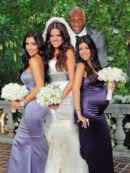 Gowns Bridesmaid Kardashian Khloe