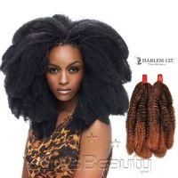 Harlem125 Synthetic Hair Braids Kima Braid Afro Kinky Bulk ...
