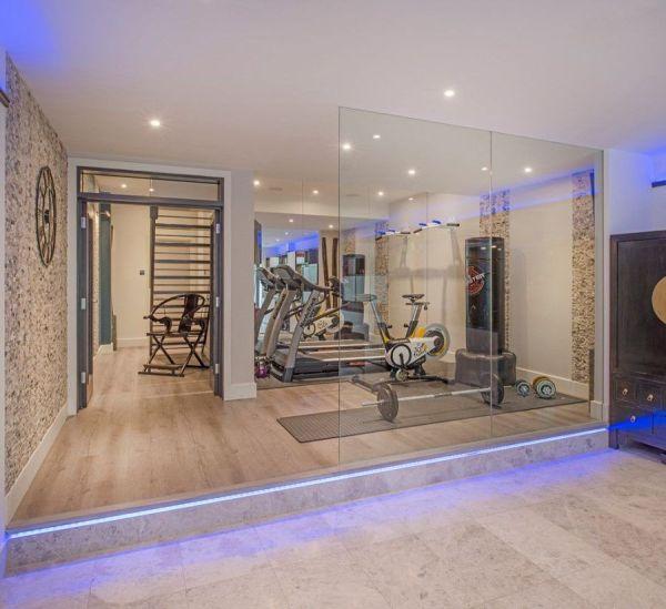Home Gym Design Make Wanna Sweat