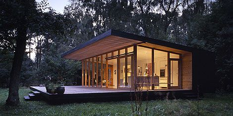 Small Contemporary Building And Low Cost House 1 Designing A