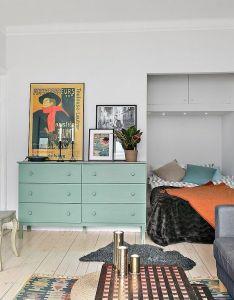 Jurnal de design interior idee amenajare pentru  garsonier micro apartmenttiny apartmentsstudio also rh pinterest