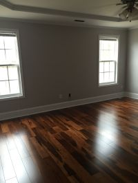 Dark Hardwood Floors. Brazilian walnut, Chocolate stain ...