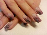 lines nail art designs