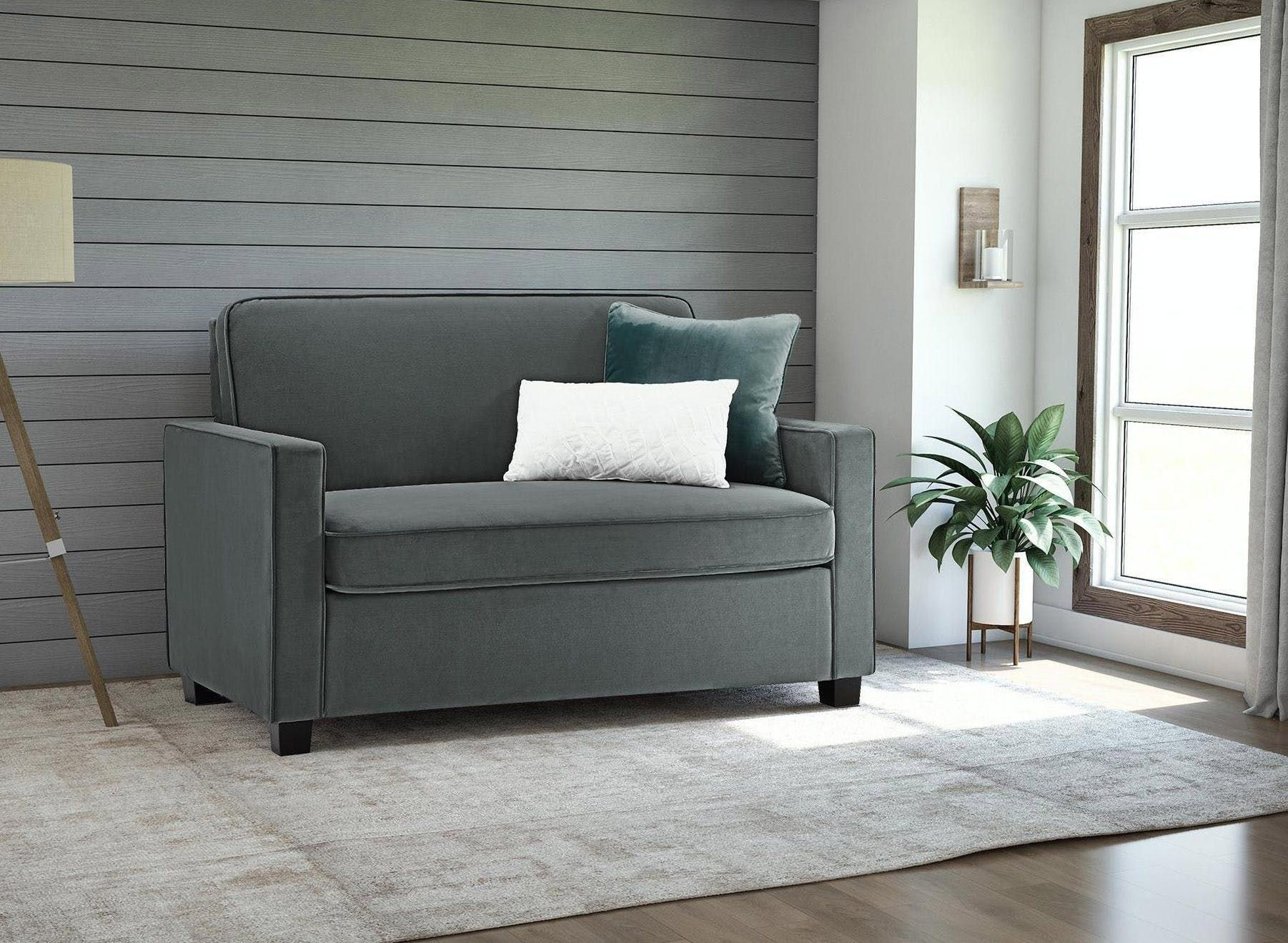 sofasandmore leather sofa review the best sleeper sofas for small spaces