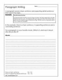 All Worksheets  Writing Paragraphs Worksheets - Printable ...