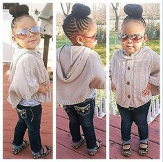 Toddler Ponytail Hairstyles For Black Girls 550×547 Black