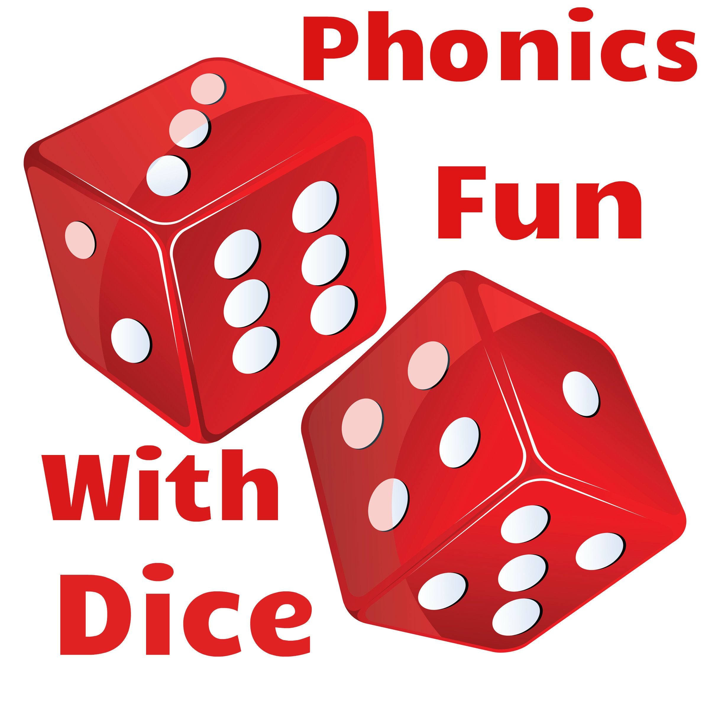 Phonics Fun With Interactive Dice Add Your Own Words To The Faces And Roll Free Resource