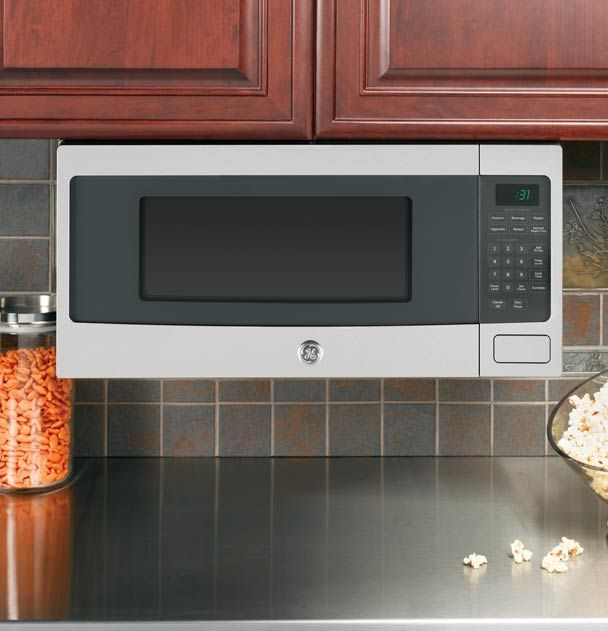 UnderCabinet mounted microwave  Kitchens  Pinterest