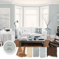 Light gray-blue paint color Quest by PPG is featured in ...