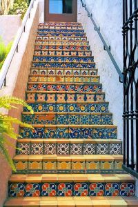 Tiled stairs | Interior design | Pinterest | Tile stairs ...