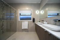 Large Modern Bathroom. The Bridgewater 256. Display Home ...
