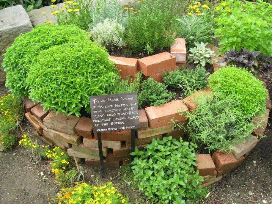 How To Build A Spiral Herb Garden 2 Florida Herb Garden Design
