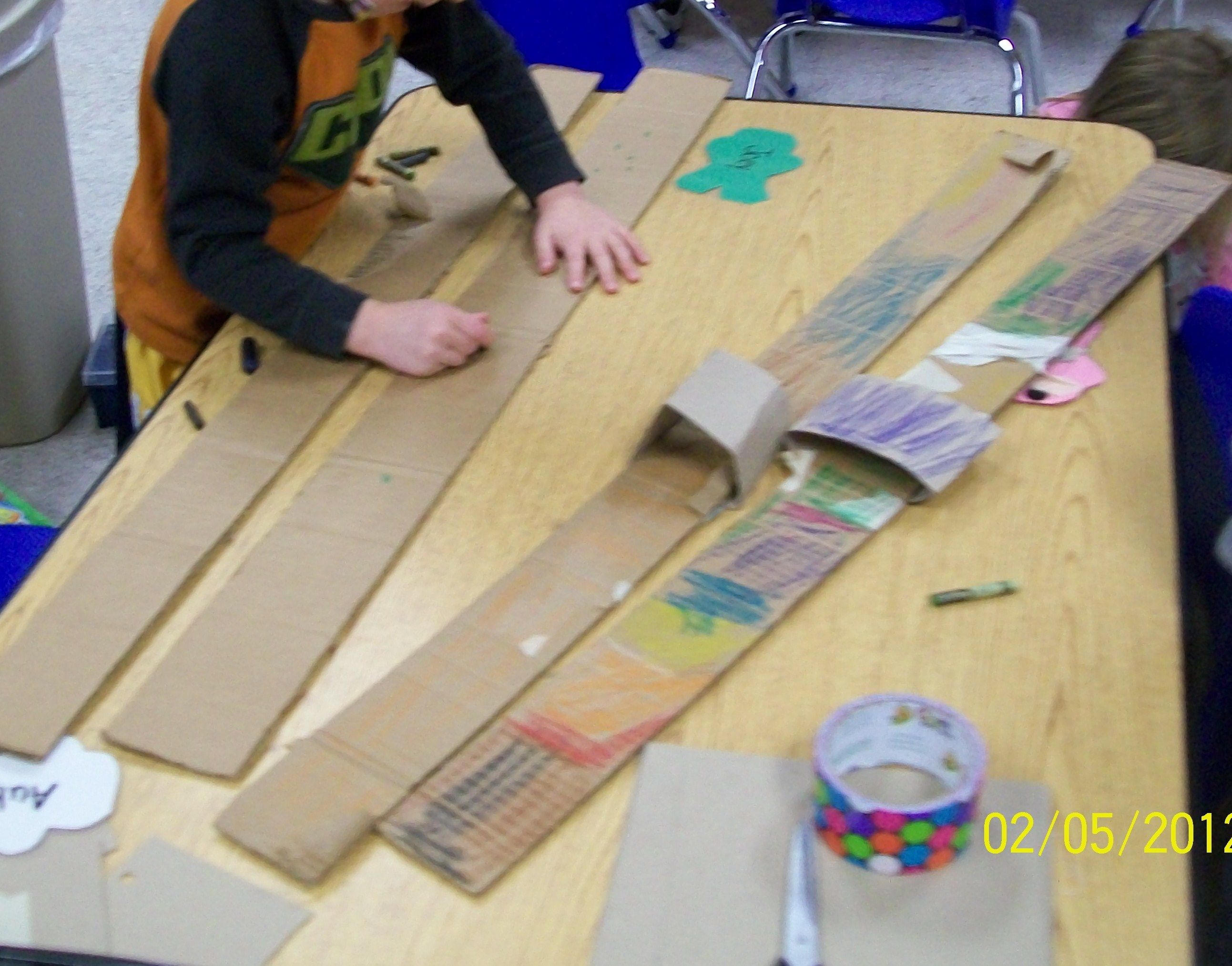 Make Your Own Skis And Use Them Duct Tape And Cardboard