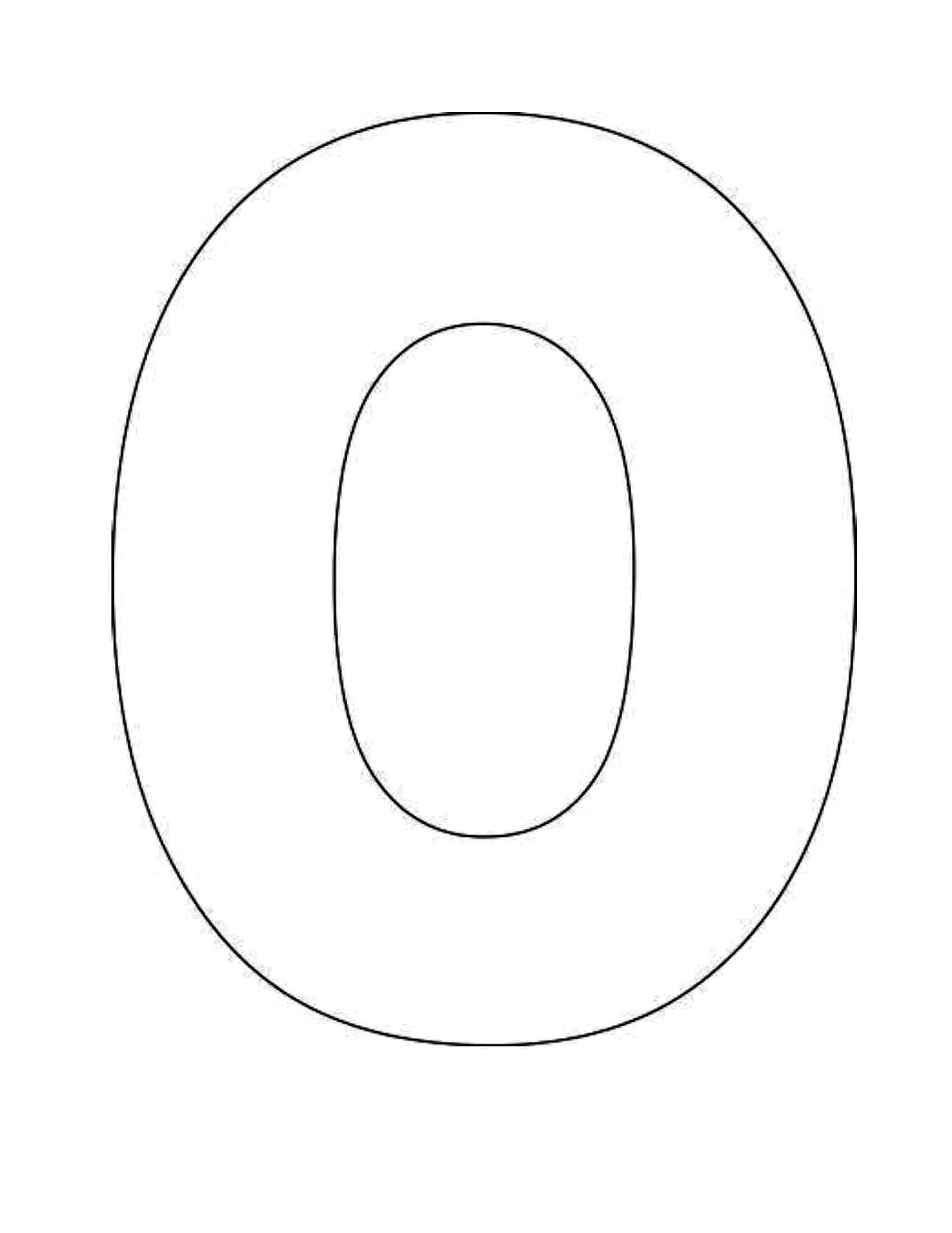 Printable Alphabet Letter O Template Alphabet Letter O