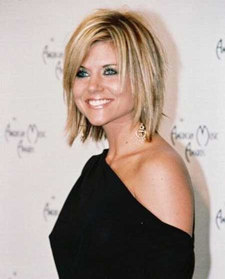Lovely And Very Charming Blunt Ends Bob Hairstyle With Awesome