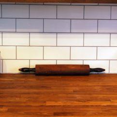 Black Subway Tile Kitchen Sears Packages Wood Countertop Terrific Metro