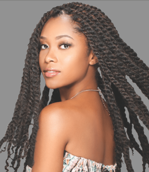 10 Fabulous Black Braided Hairstyles With Extensions Designideaz