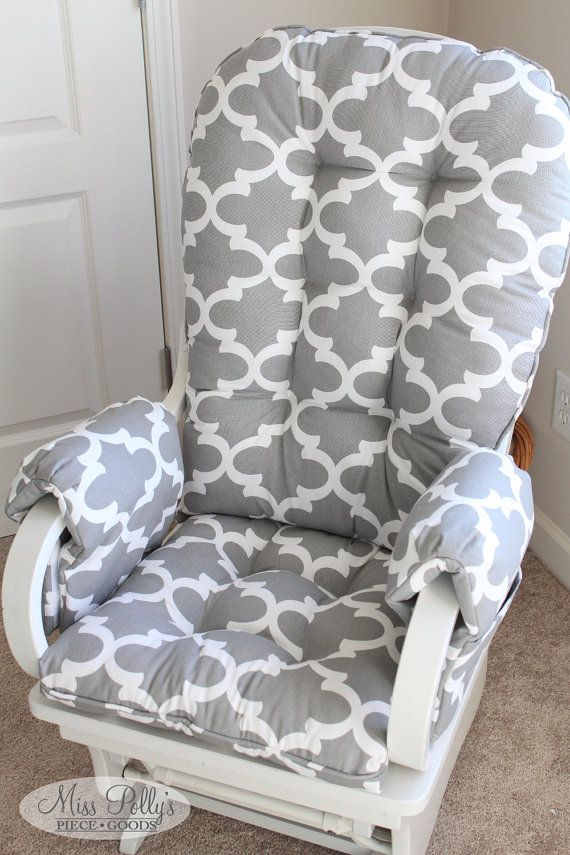 diy living room chair cover paint ideas with light wood trim custom cushions/ glider rocking ...