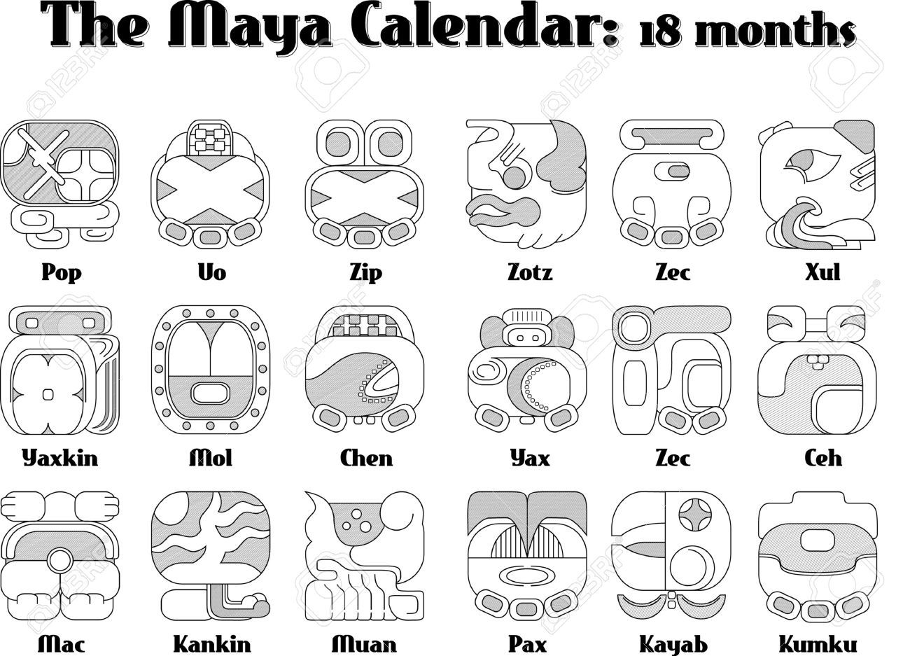Mayan calendar symbols what do they mean clipart library mayan calendar symbols months rh babyshower website buddhist symbols and meanings symbol signs and meaning buycottarizona