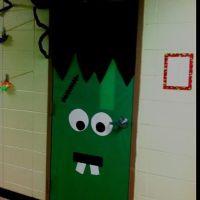 Halloween Frankenstein Classroom Door Decoration | Door ...