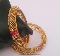Designer 1 Gram Gold Bangle | Bangalore india, Gold ...